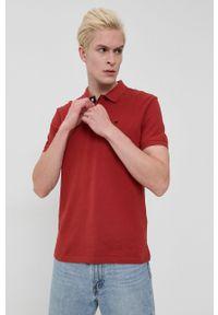 Tom Tailor - Polo bawełniane. Okazja: na co dzień. Typ kołnierza: polo. Kolor: czerwony. Materiał: bawełna. Długość: krótkie. Wzór: gładki. Styl: casual