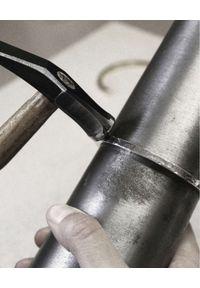 GAS BIJOUX - Srebrna skręcana bransoletka Torsade. Materiał: srebrne. Kolor: srebrny. Wzór: aplikacja
