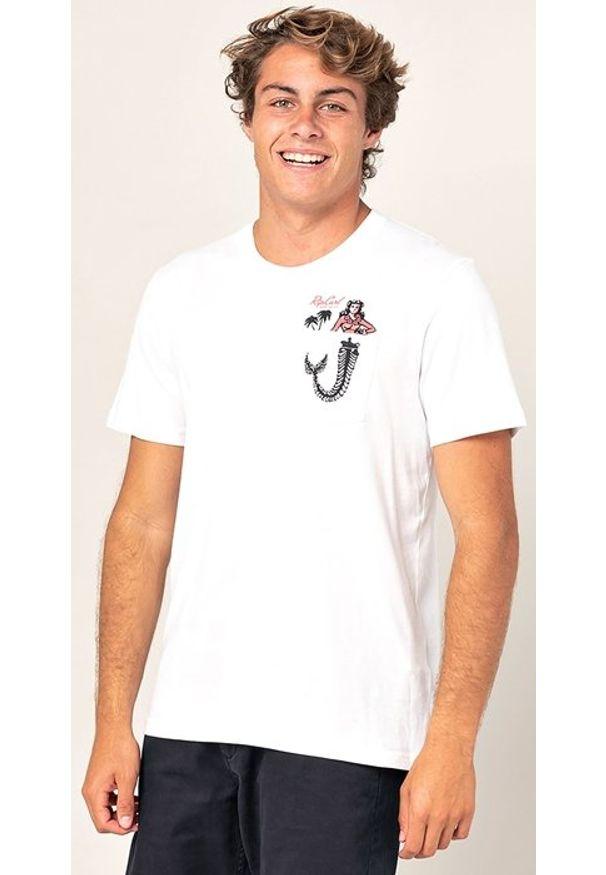 RIPCURL Koszulka męska IN DA POCKET White