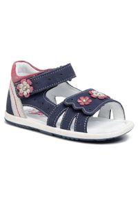 Niebieskie sandały Lasocki Kids casualowe, na co dzień, z aplikacjami