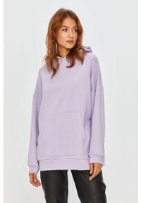 Fioletowa bluza Answear Lab na co dzień, z długim rękawem