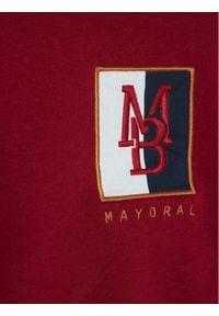 Mayoral Bluza 2491 Bordowy Regular Fit. Kolor: czerwony