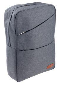 ROVICKY - Plecak męski szary Rovicky NB9704-4375 GRAY. Kolor: szary. Materiał: materiał. Styl: sportowy
