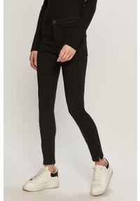 Szare jeansy Vero Moda z podwyższonym stanem, gładkie