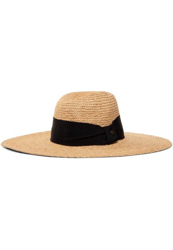 Beżowy kapelusz TwinSet