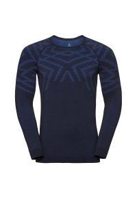 Bielizna Odlo Natural Shirt Long Sleeve M 110712. Materiał: włókno, materiał, syntetyk. Długość rękawa: długi rękaw. Długość: długie