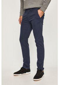 Tom Tailor Denim - Spodnie. Kolor: niebieski. Materiał: denim