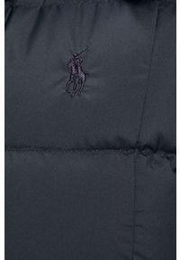 Niebieska kurtka Polo Ralph Lauren z kapturem