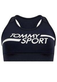 Niebieski biustonosz sportowy Tommy Sport