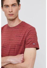 Pepe Jeans - T-shirt KIF. Okazja: na co dzień. Kolor: różowy. Materiał: dzianina. Styl: casual