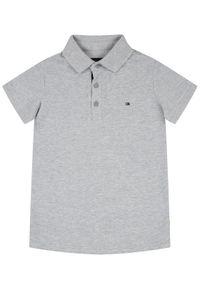 Szary t-shirt polo TOMMY HILFIGER polo