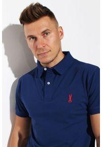Koszulka polo Edward Orlovski w kolorowe wzory, polo, elegancka