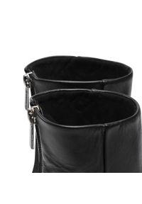 Badura - Botki BADURA - T348 Black. Okazja: na co dzień. Kolor: czarny. Materiał: skóra. Szerokość cholewki: normalna. Sezon: zima, jesień. Styl: casual