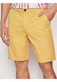 Żółte szorty Quiksilver