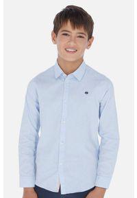 Niebieska koszula Mayoral casualowa, długa