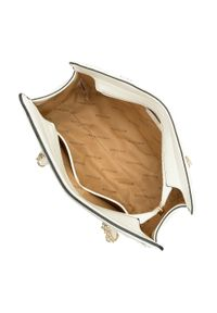 Beżowy kuferek Wittchen pikowany, elegancki