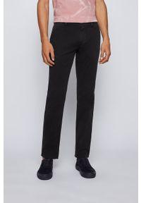 BOSS - Boss - Spodnie. Kolor: czarny. Materiał: tkanina