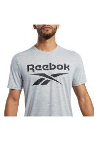 Koszulka sportowa męska Reebok Workout Ready FK6216. Materiał: materiał, wiskoza, poliester. Długość rękawa: krótki rękaw. Długość: krótkie. Sport: fitness