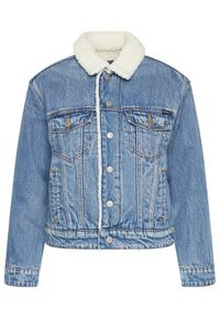 Niebieska kurtka jeansowa Superdry