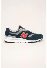 New Balance - Buty CM997HAY. Zapięcie: sznurówki. Kolor: niebieski. Materiał: guma. Szerokość cholewki: normalna