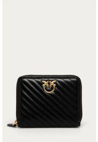 Czarny portfel Pinko