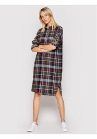 Polo Ralph Lauren Sukienka koszulowa Lsl 211838952001 Kolorowy Regular Fit. Typ kołnierza: polo. Wzór: kolorowy. Typ sukienki: koszulowe