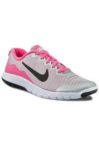 Szare buty do biegania Nike z cholewką, Nike Flex