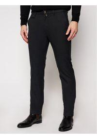 Pierre Cardin Spodnie materiałowe 33747/000/4792 Czarny Modern Fit. Kolor: czarny. Materiał: materiał
