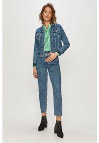 Niebieskie jeansy loose fit Levi's® na spotkanie biznesowe, z podwyższonym stanem, biznesowe