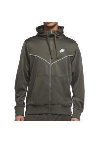 Nike - NIKE REPEAT HOODIE > CZ7822-325. Typ kołnierza: kaptur. Materiał: bawełna, poliester. Styl: klasyczny