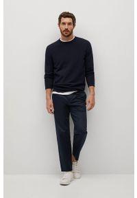 Niebieski sweter Mango Man na co dzień, casualowy