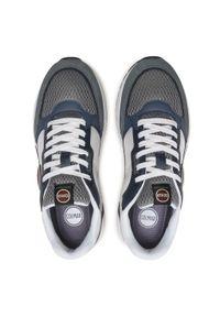 Colmar - Sneakersy COLMAR - Dalton Vice 016 Lt Gray/Navy/Dusty Blue. Okazja: na co dzień. Kolor: niebieski. Materiał: zamsz, skóra ekologiczna, materiał. Szerokość cholewki: normalna. Styl: casual, elegancki #3
