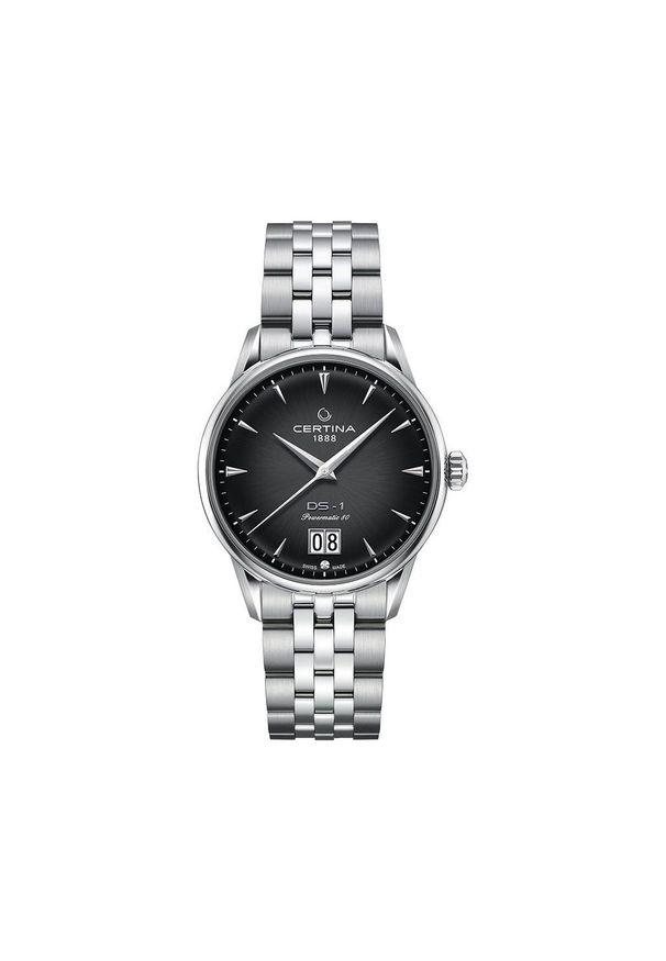 Niebieski zegarek CERTINA klasyczny