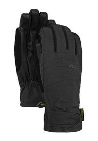 Czarne rękawiczki sportowe Burton narciarskie