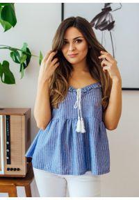Niebieska bluzka Fanaberia.com wakacyjna #1