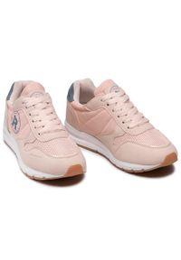 Refresh - Sneakersy REFRESH - 72894 Nude. Okazja: na co dzień, na spacer. Kolor: różowy. Materiał: skóra ekologiczna, materiał. Szerokość cholewki: normalna. Sezon: lato. Styl: casual #5