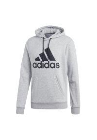 Bluza z kapturem Adidas sportowa, długa, z długim rękawem
