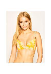 Żółte góra bikini Chantelle