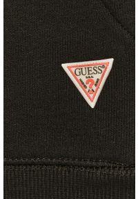 Czarna bluza Guess z długim rękawem, casualowa, długa