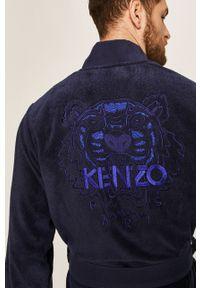 Niebieski szlafrok Kenzo