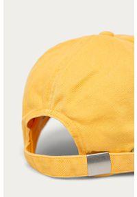 Żółta czapka z daszkiem Billabong z aplikacjami