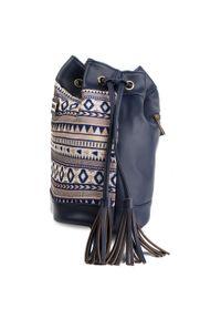 Niebieska torebka worek Refresh casualowa