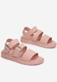 Renee - Różowe Sandały Calocea. Kolor: różowy