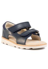 Niebieskie sandały Clarks na lato