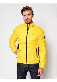 Żółta kurtka puchowa Calvin Klein