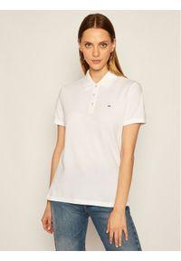 Biała koszulka polo Tommy Jeans polo