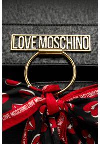 Czarny plecak Love Moschino elegancki