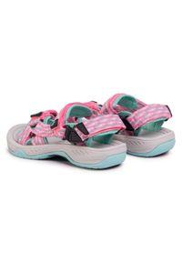 Różowe sandały Sprandi
