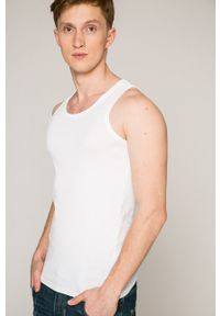 G-Star RAW - G-Star Raw - T-shirt (2-pack). Okazja: na co dzień. Kolor: biały. Materiał: dzianina. Styl: casual
