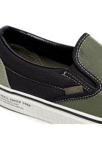 Zielone buty trekkingowe Vans Vans Classic